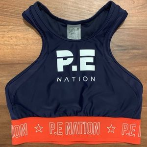 P.E. Nation Sports Bra/Crop Top